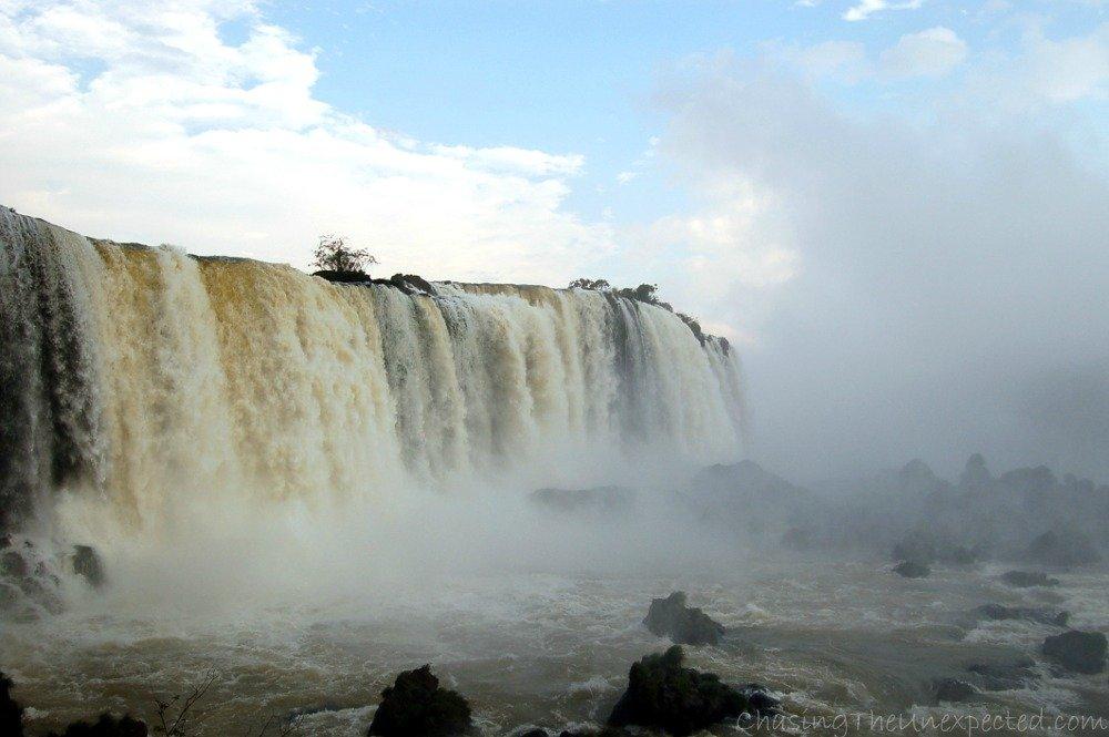 Iguazu Falls, a natural wonder