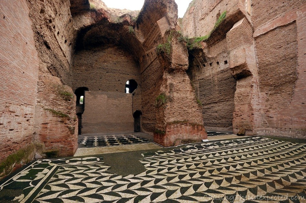 Baths of Caracalla, or Romans' knack for pampering themselves