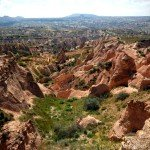 Awe-inspiring Red Valley and Rose Valley in the heart of Cappadocia, Turkey
