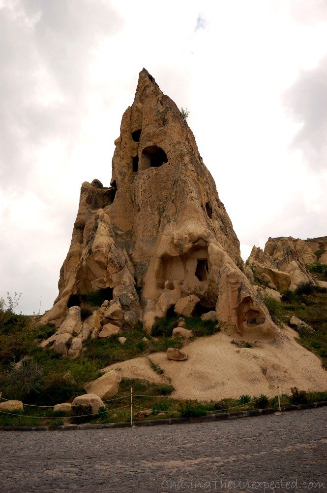 "The ""Nunnery"" at goreme open air museum"