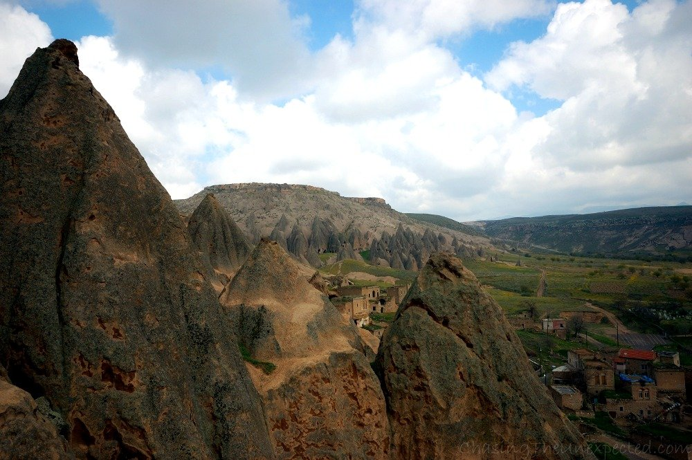 The view from the monastery