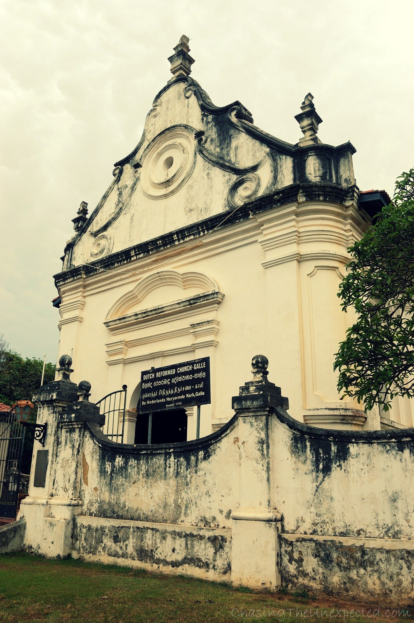 Galle's old church