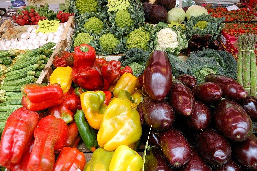 mercato testaccio veggies