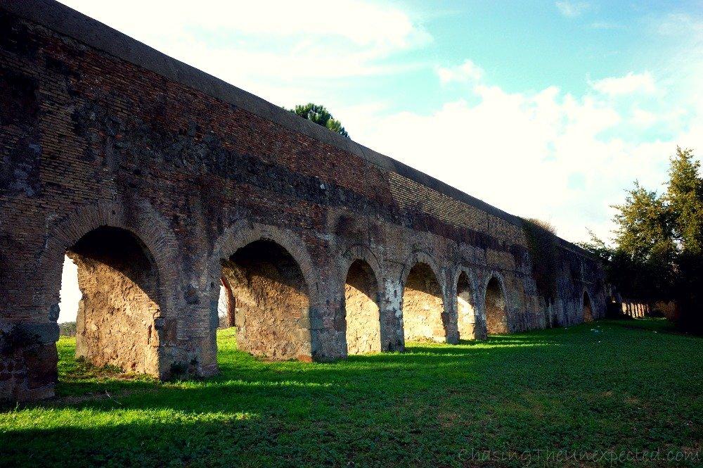 Claudian Aqueduct, also known as Aqua Claudia