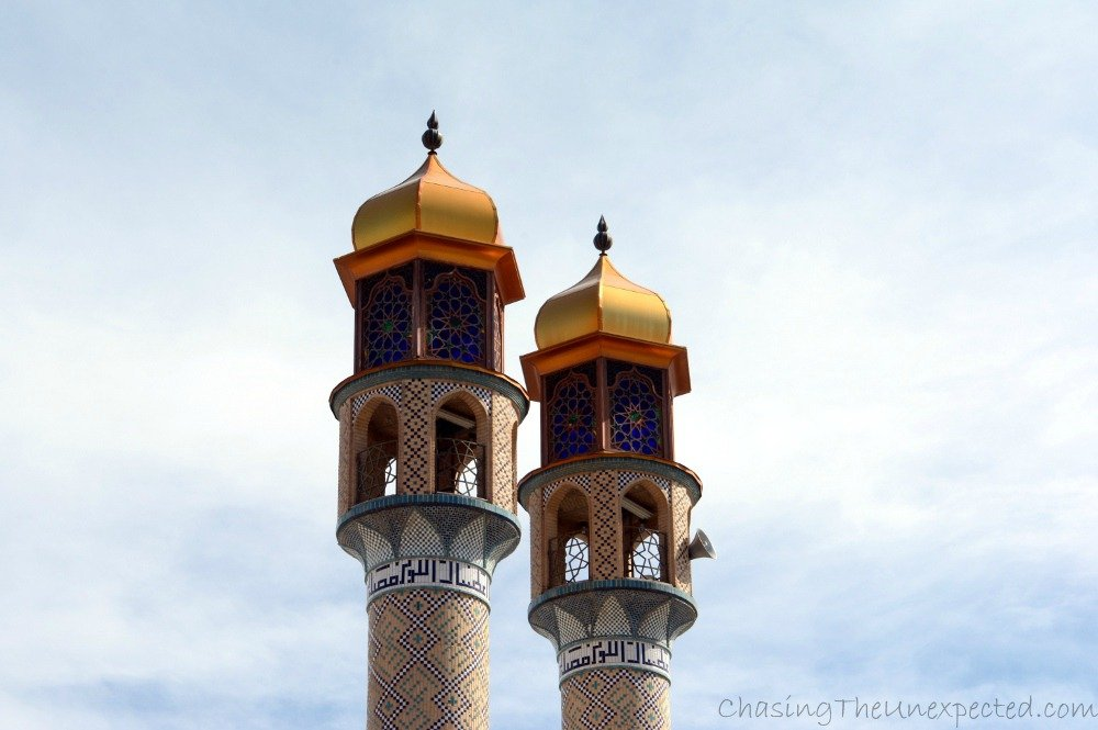 Minarets of Haji Fakr mosque