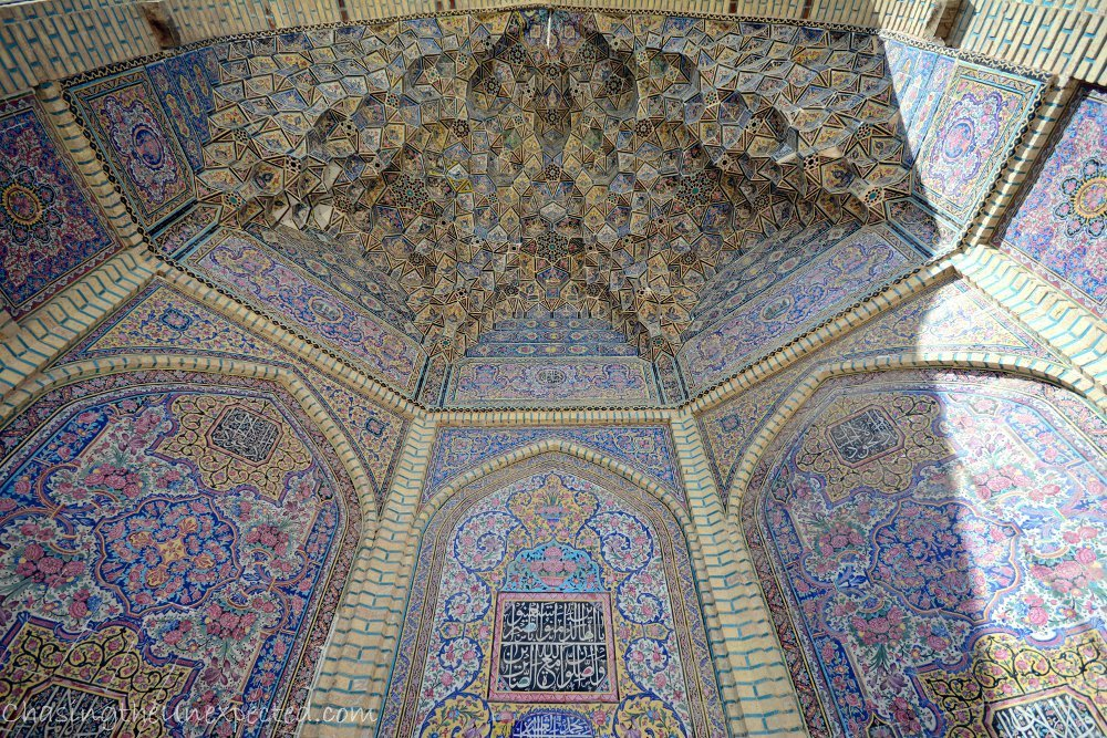 Muqarna of Nasir alMulk mosque