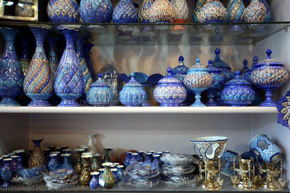 iran bazaars
