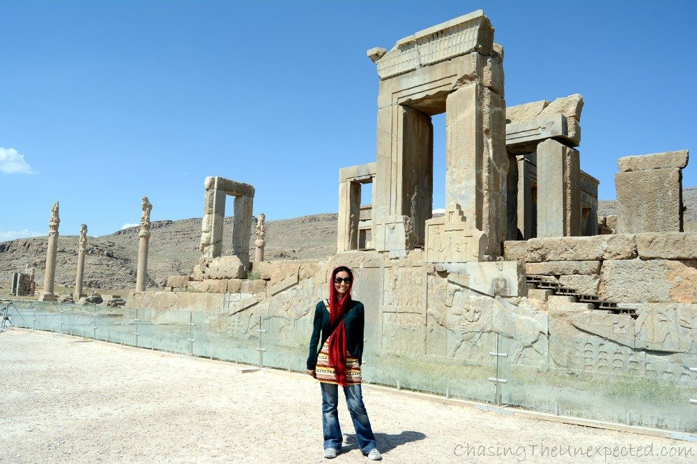 Myself in Persepolis, Iran
