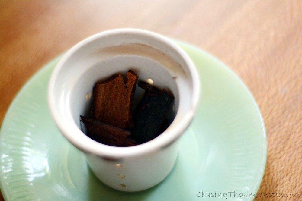 My cinnamon tea