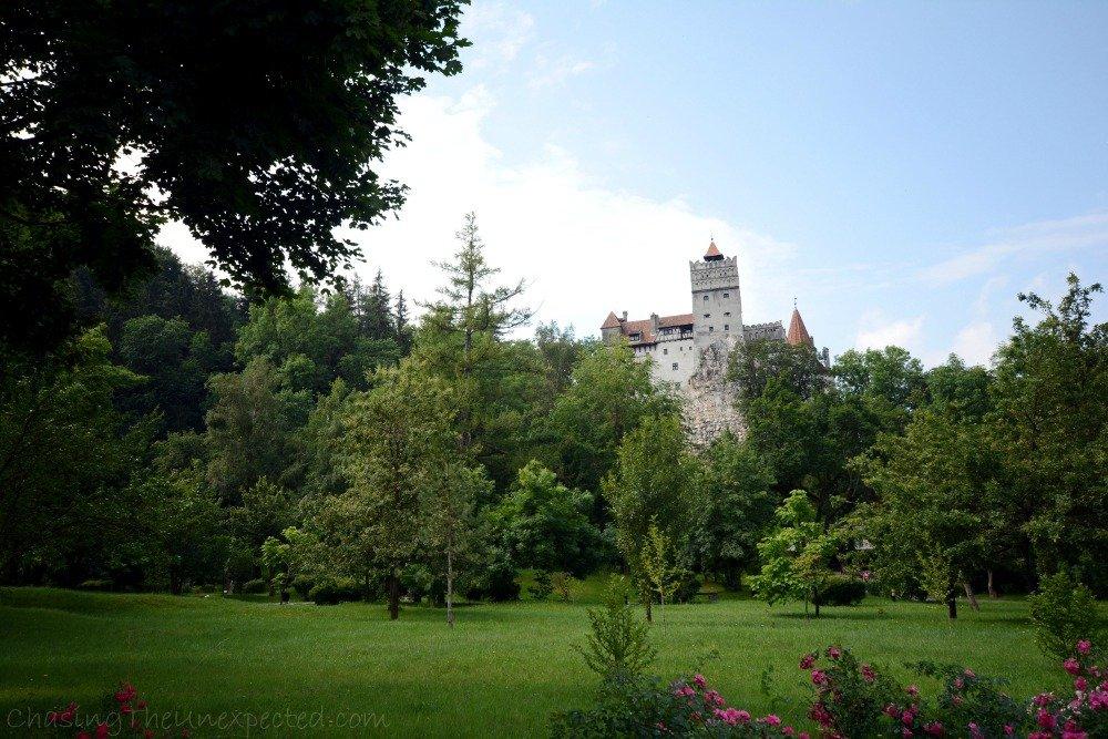 Romanian folklore around Transylvania's Bran Castle