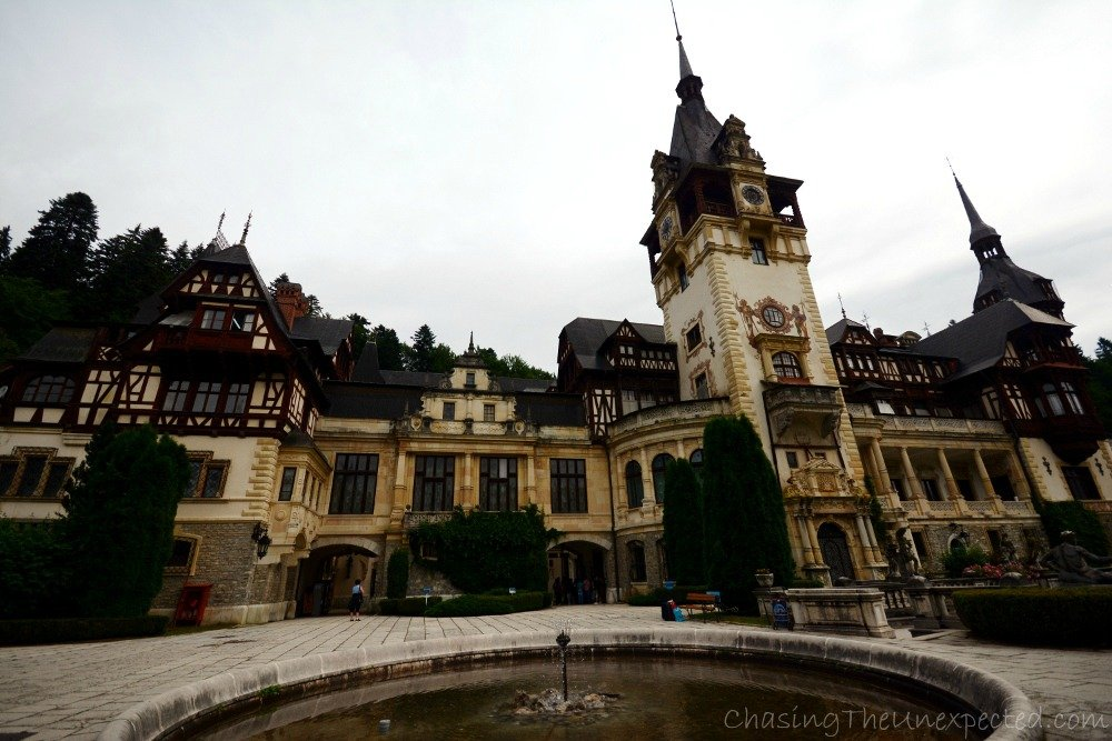 Peles Castle, eerie beauty and luxury in Sinaia