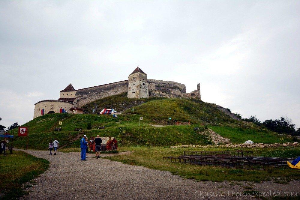 Medieval citadel in Rasnov
