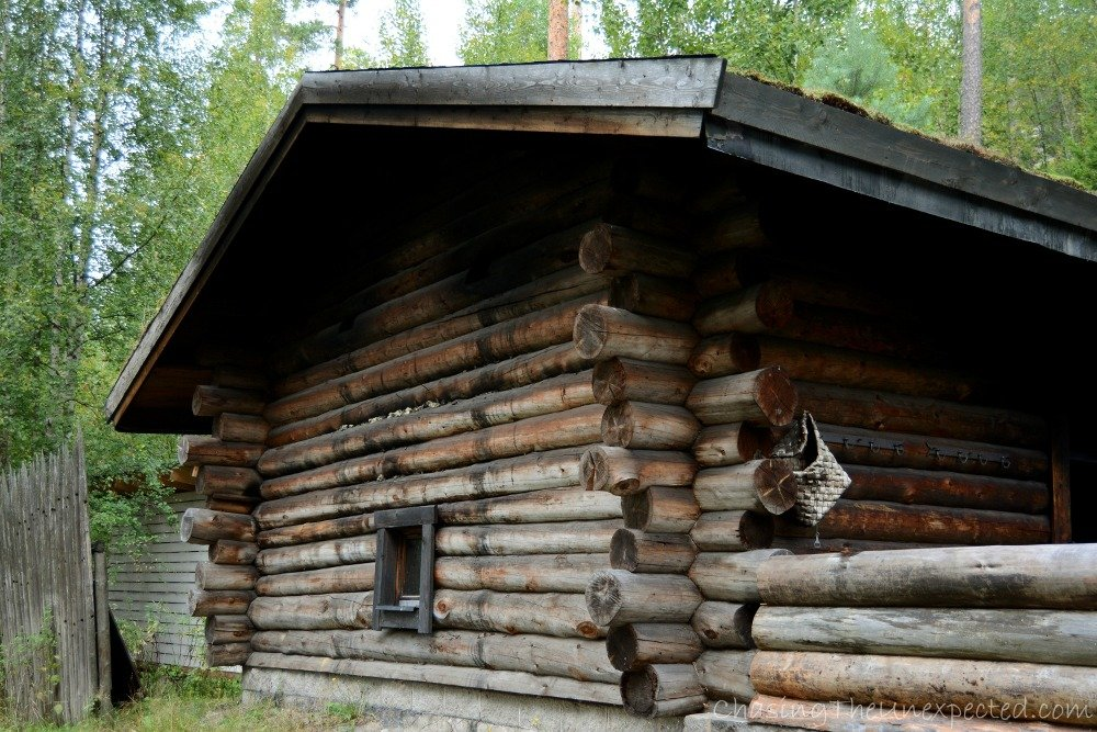 This is where we had our smoke sauna in Kammi