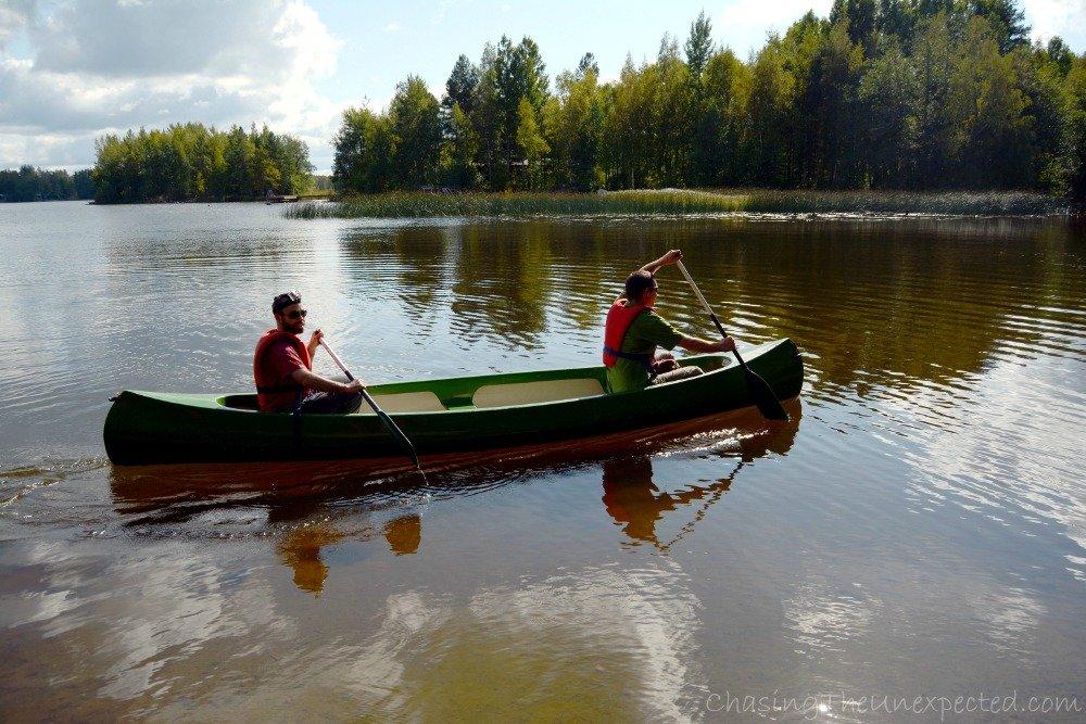 Fresh from open-air canoe class