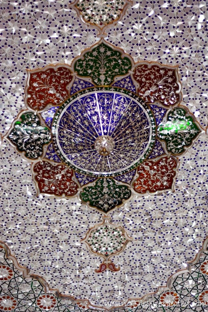 More beauty from the Mirror Hall in Shiraz's Narenjestan Garden