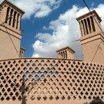 Catching the wind in Yazd desert city, where the Zoroastrian fire still burns