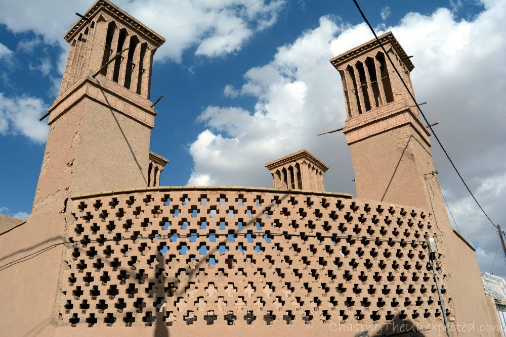 Catching the wind in Yazd desert city, where the Zoroastrian fire still burns