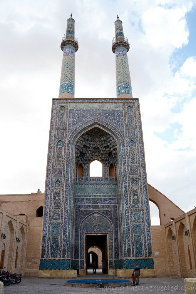 yazd grand mosque
