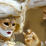 Venice Carnival is also love story...