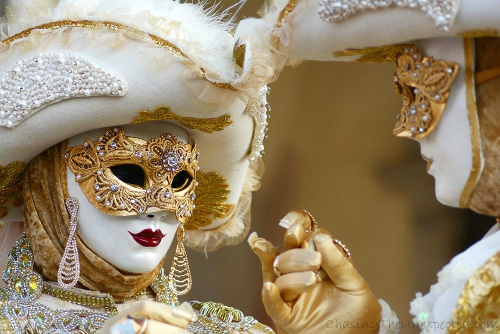 Bewitched by the magic of Venice Carnival