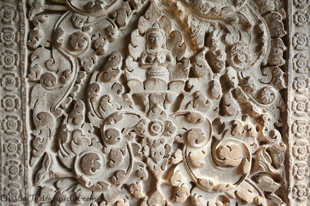 More bas-relief decorations at Angkor Wat main temple