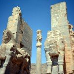 The majestic entrance to Persepolis, widely known as the Gate of All Nations
