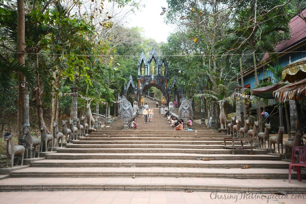 Climbing to the temples of Phnom Kulen National Park