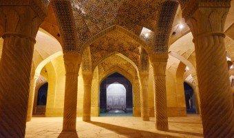 Vakil mosque, stunning Zand-era example of Islamic architecture