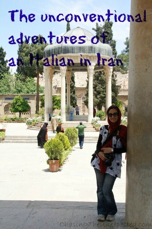 The unconventional adventures of an Italian in Iran