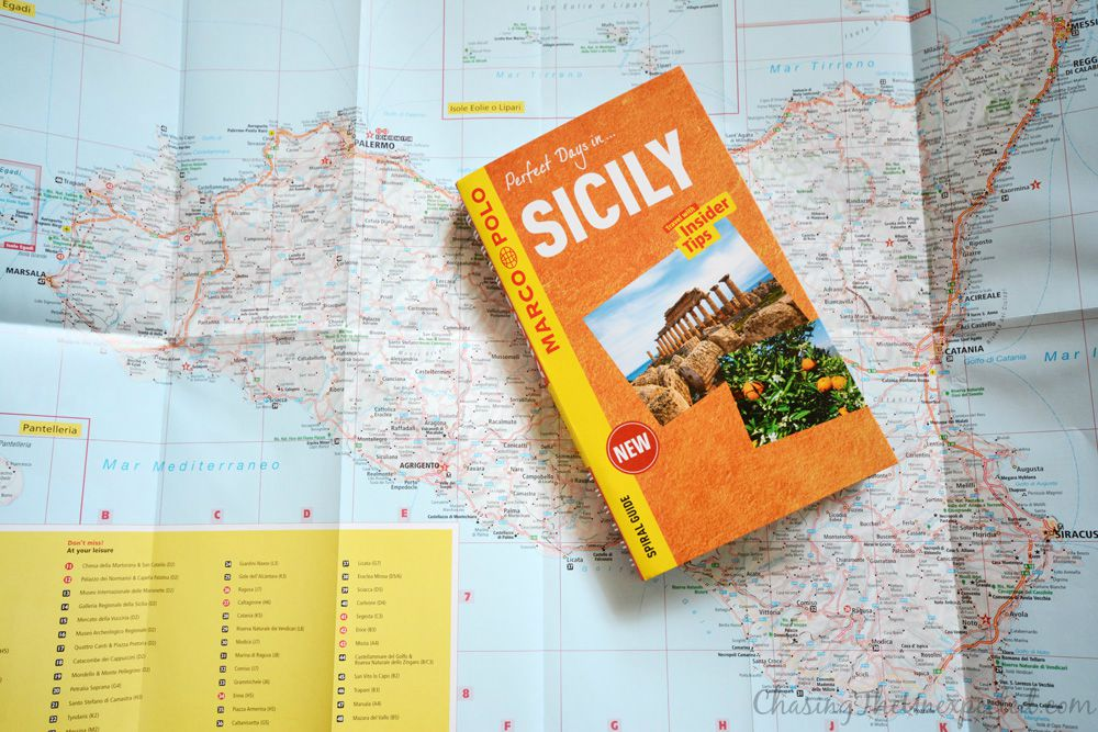 sicily marco polo guidebook