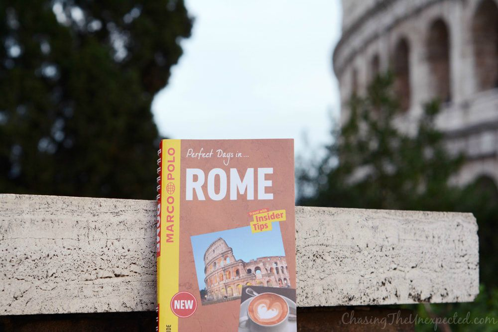 Rome marco polo guidebooks