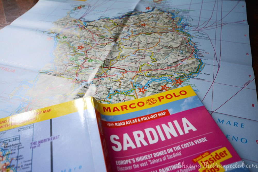 sardinia marco polo guidebook