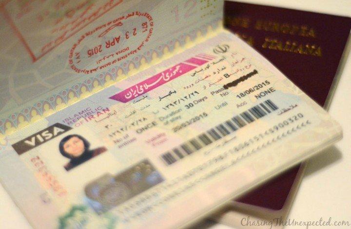 How to get Iranian visa