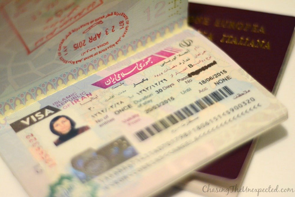 How to get an Iran visa