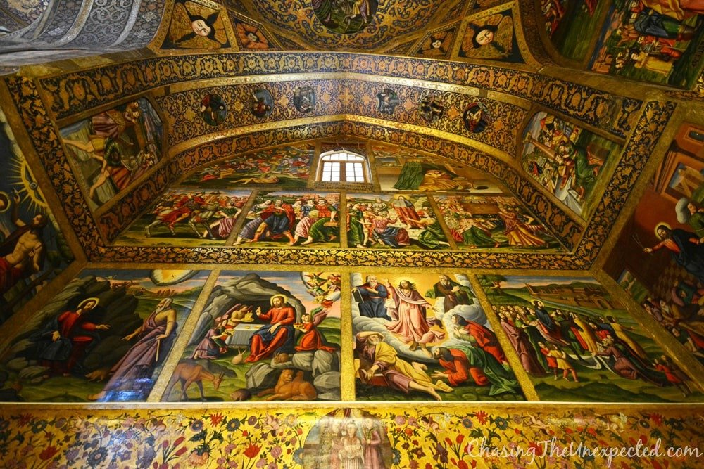 vank cathedral paintings