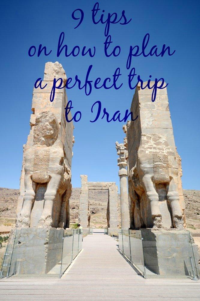 plan a perfect trip to Iran
