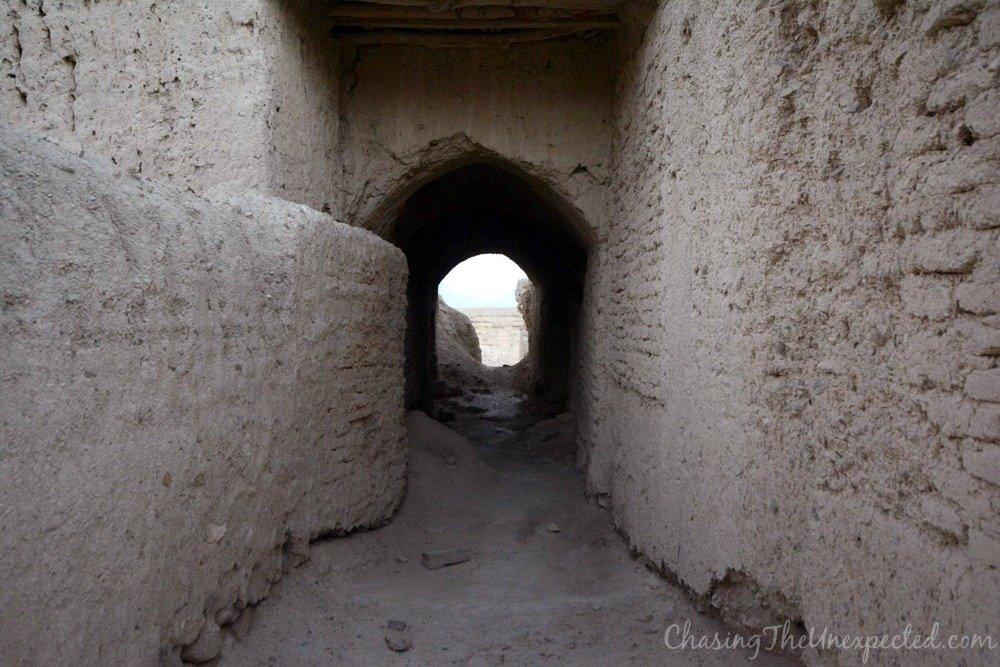 silk road izadkhast caravanserai