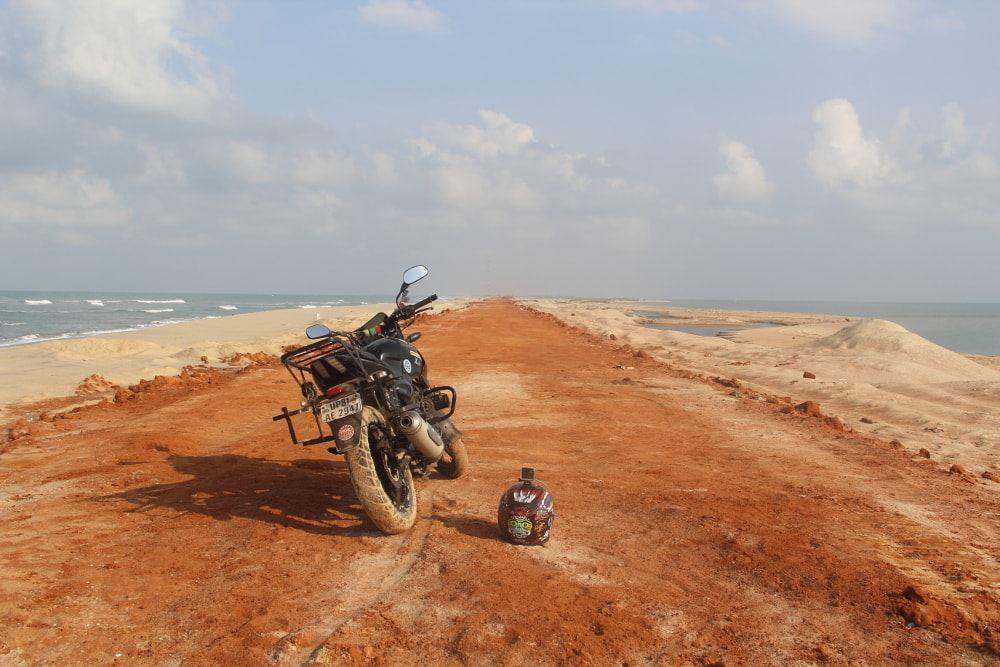 Ali's motorcycle trip around India