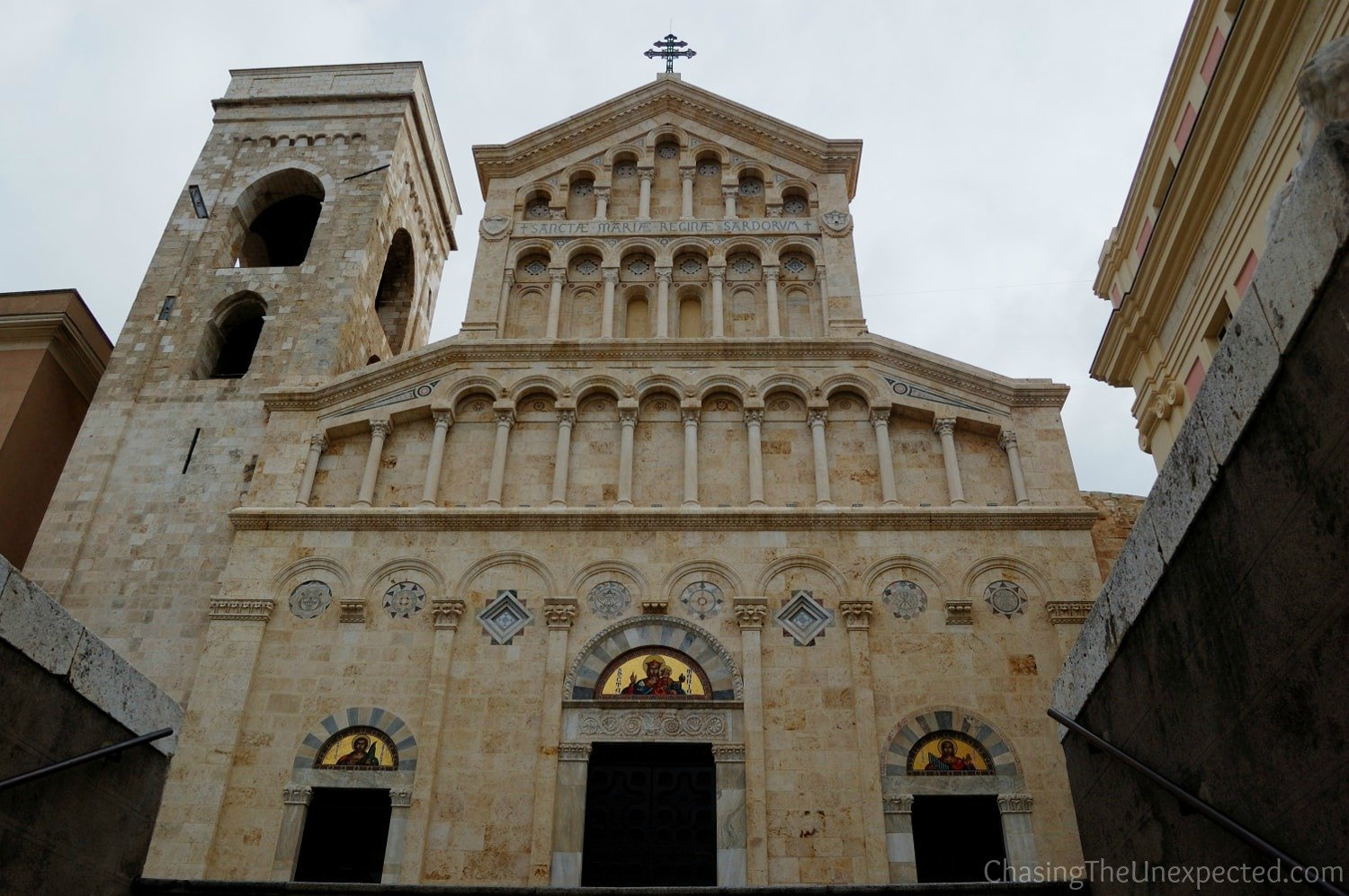 Cattedrale di Santa Maria, one of the first places to visit in Cagliari