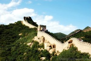 Life in China, visiting historical places such as the Great Wall