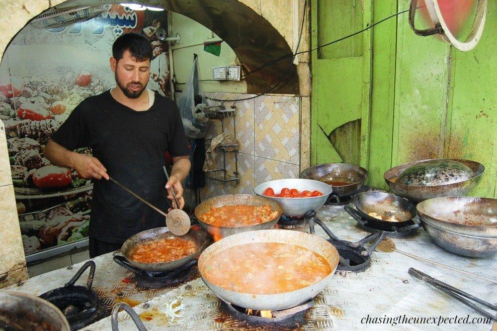 Afghanistan street food