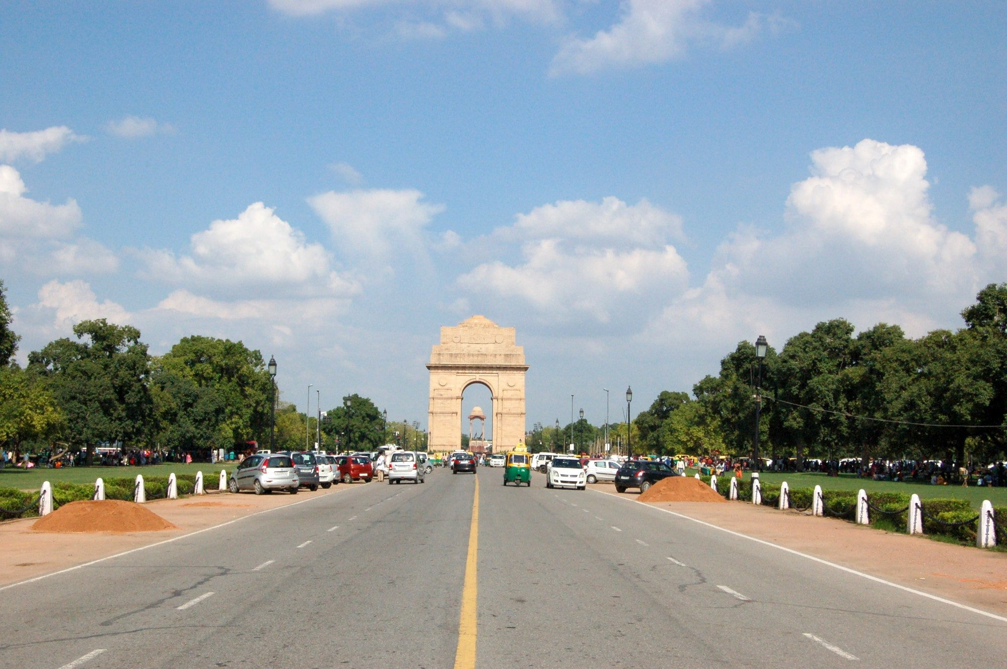 India Gate is one of the first things to see in Delhi, India