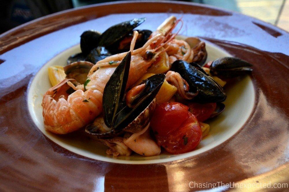 seafood pasta florence