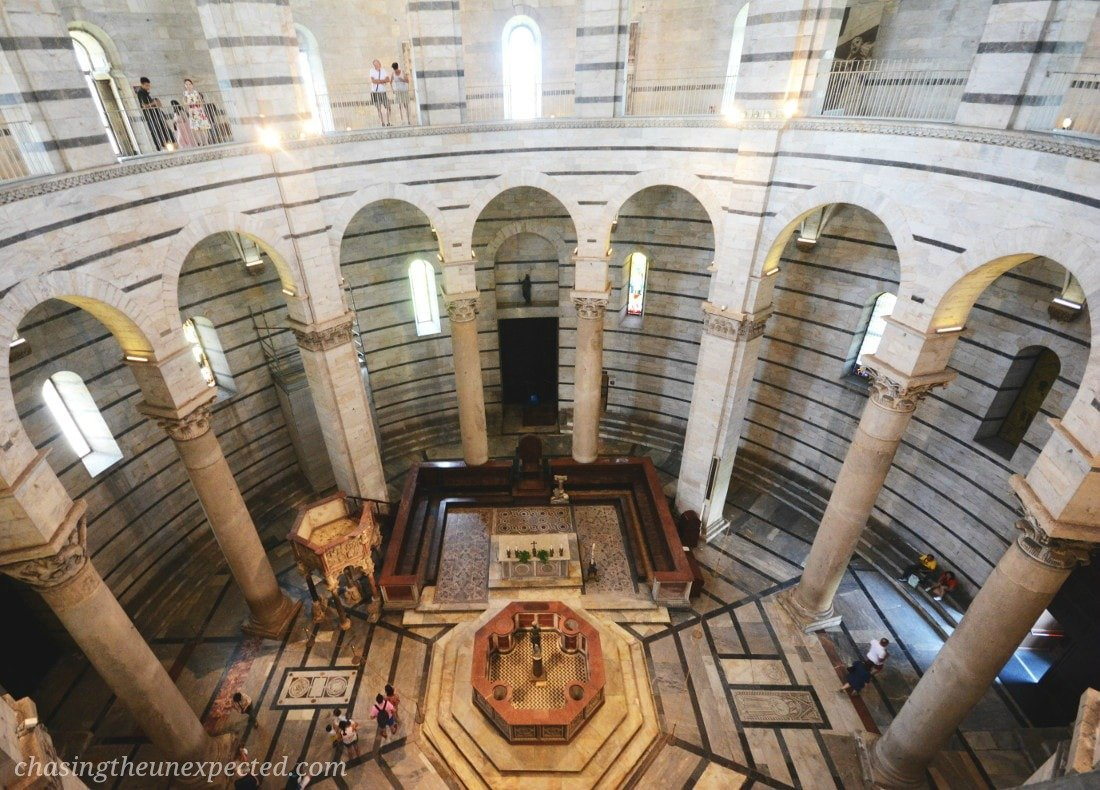 st john baptistery florence to pisa day trip