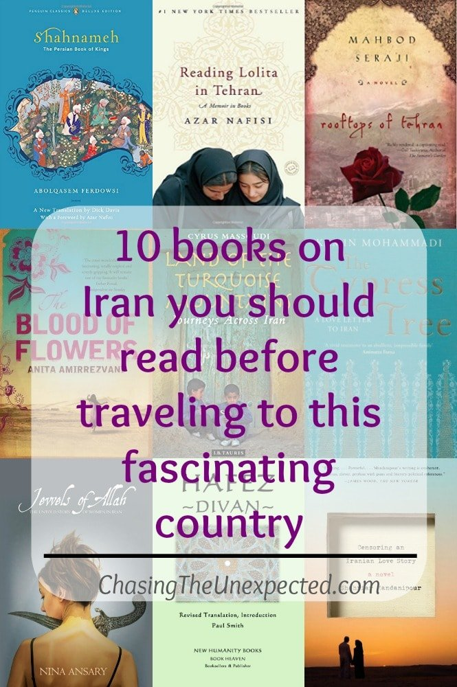 10 of my favorite books on Iran to read before traveling to this beautiful country