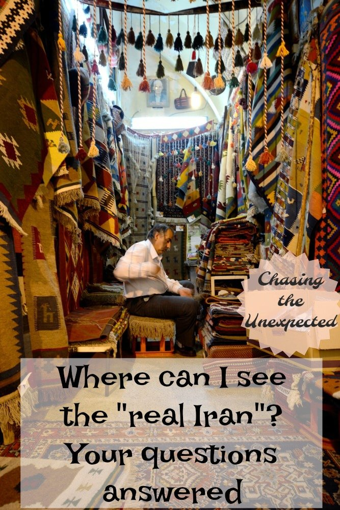 "Where can I see the ""real Iran""? Your questions answered"
