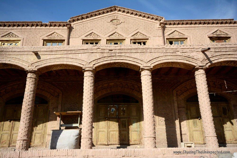 History of Afghanistan, Caravanserai Akhundzadeh in Herat, Afghanistan