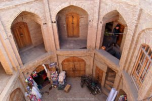 History of Afghanistan, the silk bazaar in Herat City