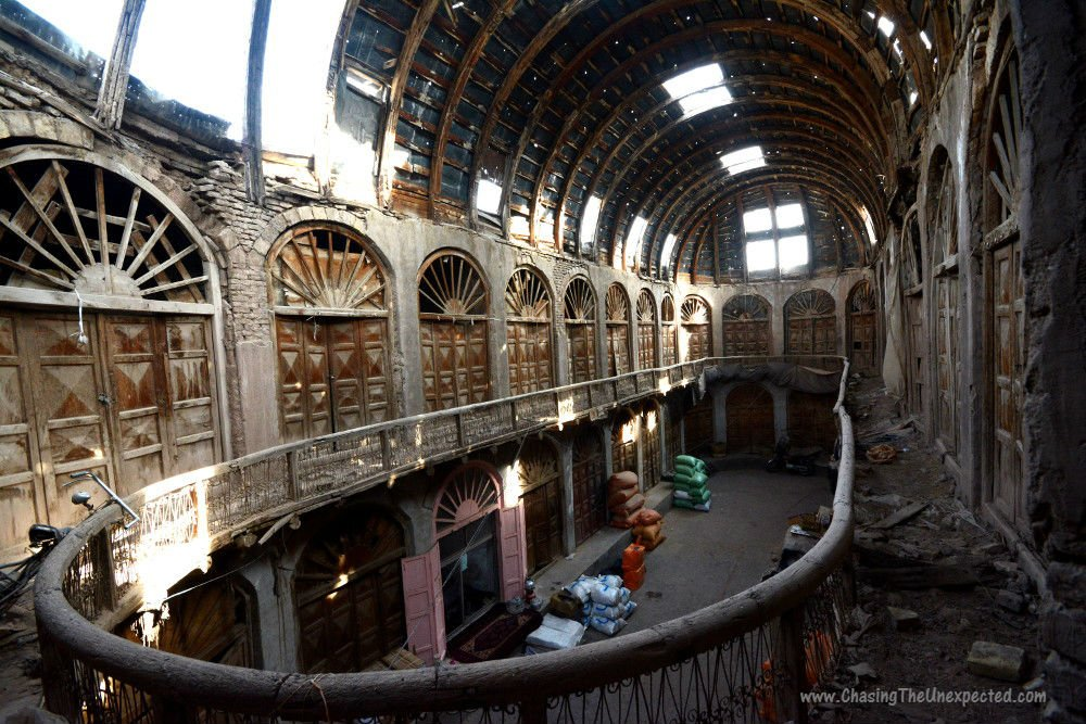 History of Afghanistan, Tim Che covered bazaar in Herat City