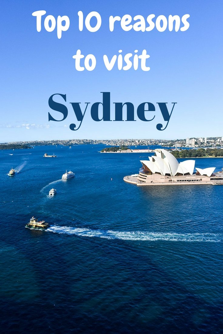 Top reasons to visit Sydney, Australia